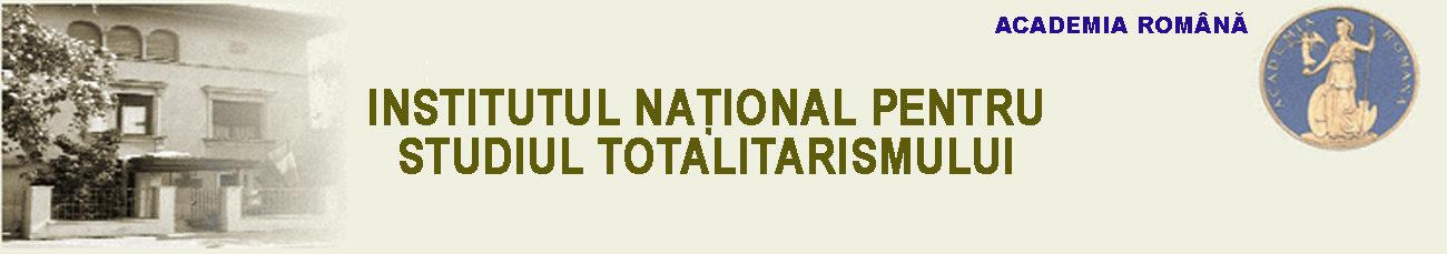 Institutul Pentru Studiul Totalitarismului